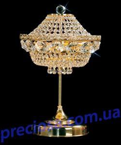 Настольная лампа хрустальная Preciosa TB 0524/00/002 (35 1047 002 07 00 00 01) Bordura