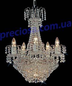 Люстра хрустальная Preciosa BB 0516/00/006 (45 0516 006 04 11 17 35)