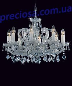 Люстра рожковая хрустальная Preciosa AT 3234/01/008 (14 3234 008 06 11 00 40) Chevalier