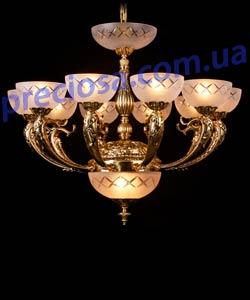 Люстра литая рожковая Preciosa AN 3856/00/013 (16 3856 013 99 25 00 00)