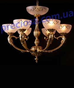 Люстра литая рожковая Preciosa AN 3856/00/006 (16 3856 006 99 25 00 00)