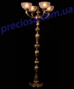 Торшер литой рожковый Preciosa FN 3856/00/004 (76 3856 004 99 25 00 00)