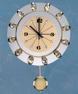 Часы с маятником Preciosa 99 008 51 (25 7016 000 13 70 06 35) Los Angeles