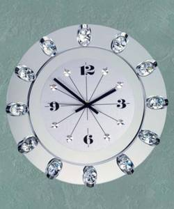 Часы с хрусталем Preciosa 99 008 52 (25 7016 000 06 70 01 35) Los Angeles