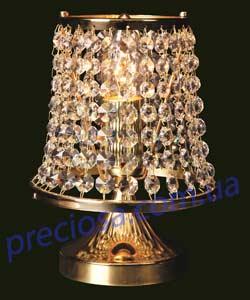 Настольная лампа хрустальная Preciosa TB 0422/05/001 (35 0371 001 07 00 04 35)