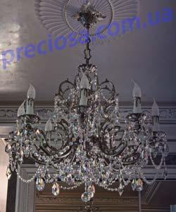 Люстра рожковая литая ALDIT Baron 8 (LL 08/03/018)