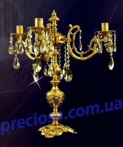 Канделябр рожковый литой ALDIT Baron SV3 (LL 12/01/201)