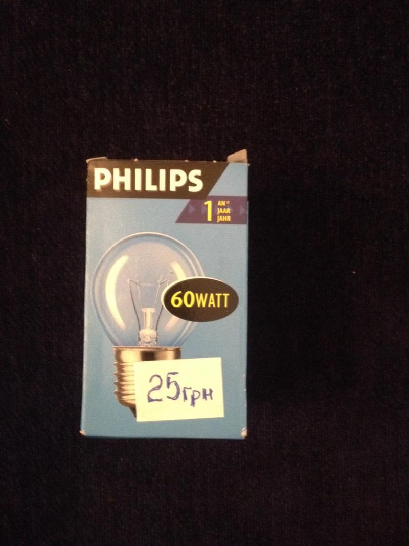 Philips 60W E27 стандарт прозрачная