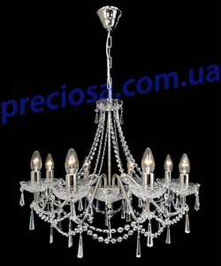 Люстра рожковая хрустальная Titania Lux 218 001 008