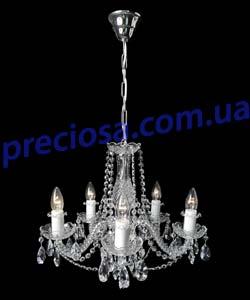 Люстра рожковая хрустальная Titania Lux 806 001 005