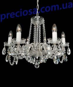 Люстра рожковая хрустальная Titania Lux 819 001 006