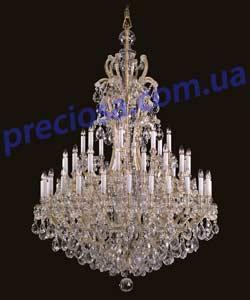 Люстра рожковая хрустальная Preciosa AM 5312/00/048 (14 5312 048 90 11 01 70) Countess