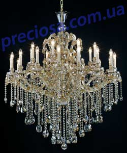 Люстра рожковая хрустальная Preciosa AM 5312/03/024 (14 5312 024 90 79 01 35) Countess