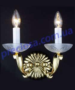 Бра литое рожковое Preciosa WL 5502/01/002 (26 5502 002 85 25 01 00) Lugos
