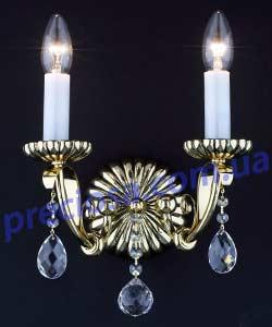 Бра литое рожковое Preciosa WL 5502/00/002 (26 5502 002 85 00 00 35) Lugos