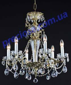 Люстра рожковая литая Preciosa AR 5295/00/006 (16 5295 006 85 01 00 35) Festi