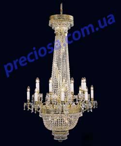 Люстра рожковая литая Preciosa BR 5194/00/037 (46 5194 037 85 01 02 35) Chambord