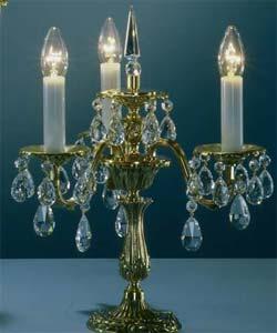 Настольная лампа бронзовая Preciosa TR 5041/00/003 (36 5041 003 85 00 00 28) Palatin